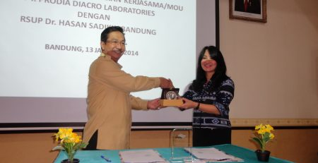 SMO - PT. Prodia DiaCRO Laboratories Signed the MoU with RSUP Dr. Hasan Sadikin