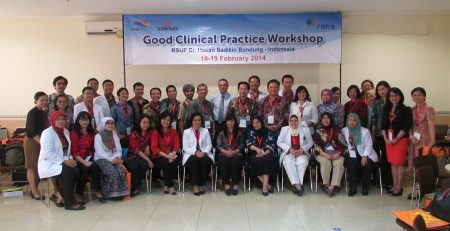SMO - PT. Prodia DiaCRO Laboratories Held GCP Workshop in Collaboration with Quintiles in RSUP Dr. Hasan Sadikin Bandung